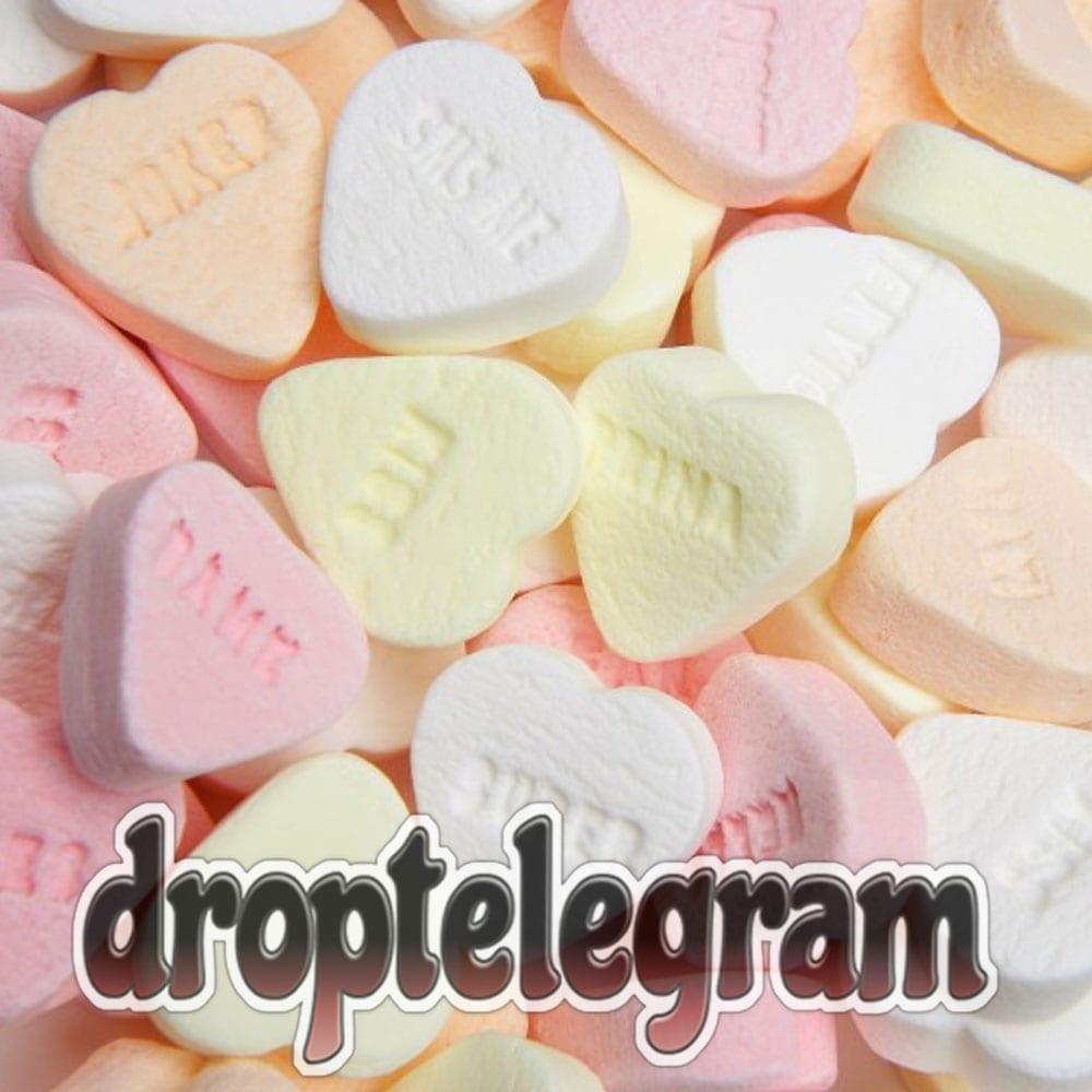 Vruchtenhartjes Droptelegram