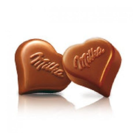 I Love Milka Chocolade Hartjes