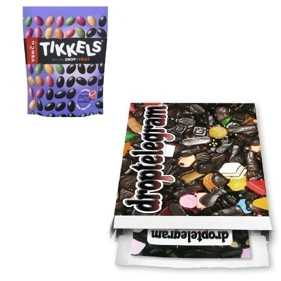 Venco Tikkels Drop & Fruit