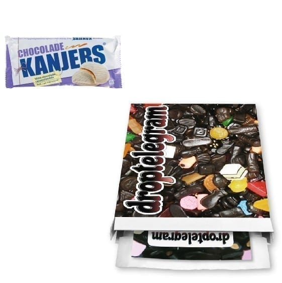 Kanjers Stroopwafels Witte Chocolade