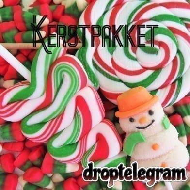 Kerstpakket Droptelegram